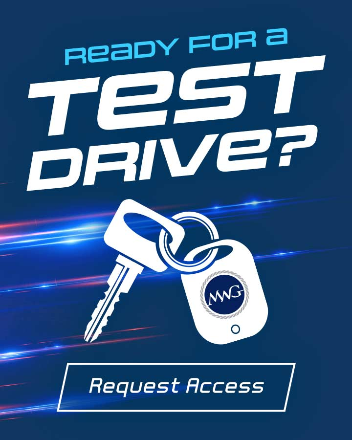 Ready for a Test Drive. Click here to request access!